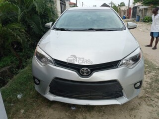 Toyota Corolla 2015 Silver Foreign Used